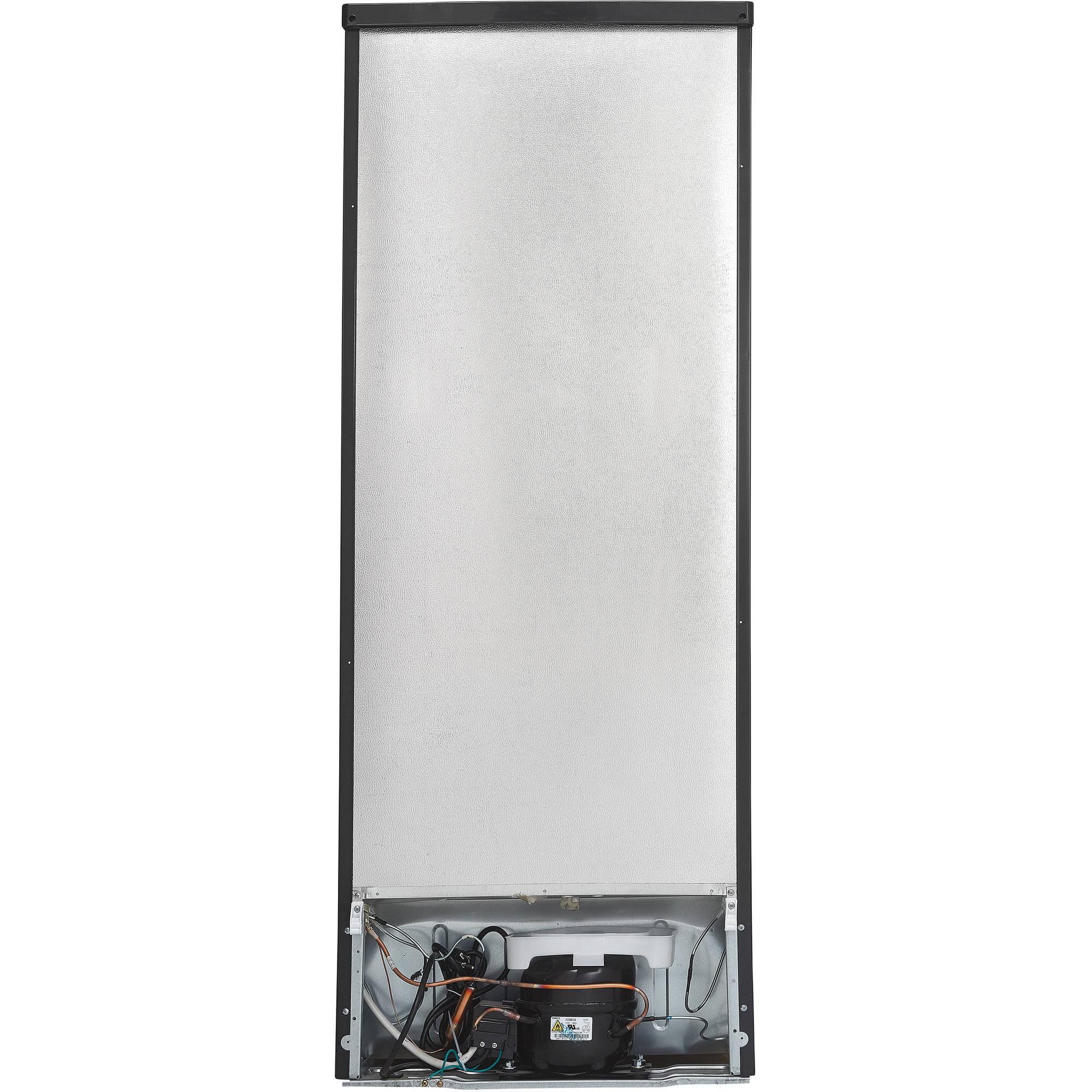 Danby 7.3 cu ft Black Top Mount Refrigerator with Stainless Steel Doors