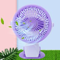 LHCER Mini Fan, Mini Desk Fan,USB Mini Desk Desktop Personal Cooling Fan Super Quiet With Clip for Home Office Dorm