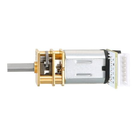 6V 150RPM DC Gear Motor w Encoder Speed Velocity Measurement for Model Plane - image 3 of 6