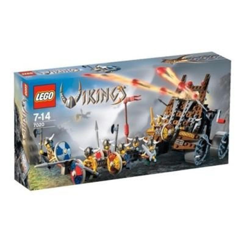 LEGO VIKINGS Army of Vikings with Heavy Artillery Wagon (...