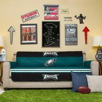 Philadelphia Eagles Sofa Protector - Green