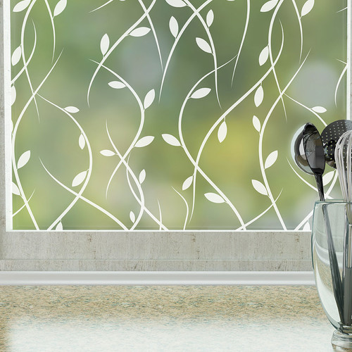 Stick Pretty Vines Privacy Window Film