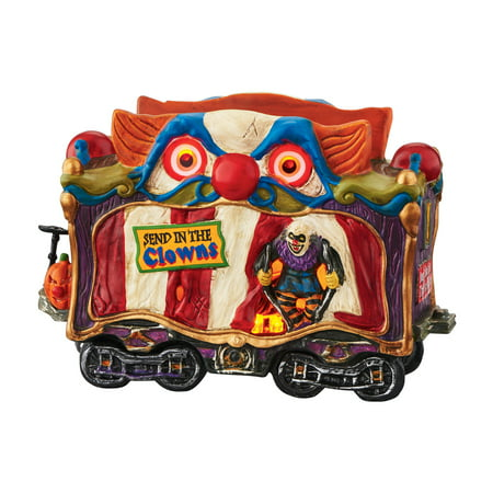 Dept 56 Halloween Village 4049218 Creepy Clown Car LED Retired](Diy Halloween Village)