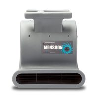 Product Image Soleaire Super Monsoon SA-SM-1HP-GY Grey Air Mover Carpet Dryers for