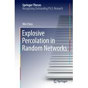 Explosive Percolation in Random Networks - eBook