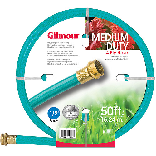 Gilmour 15-12050 1/2 in X 50' 4 Ply Medium Duty Garden Hose