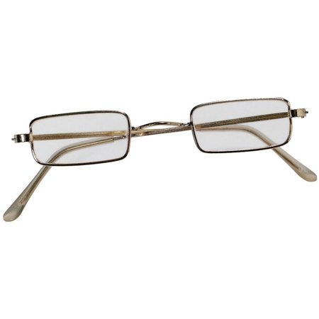 Cp  Santa Claus or Mrs Claus Metal Frame Square Rectangular Glasses Adult Costume Accessory - Mrs Santa Claus Costume