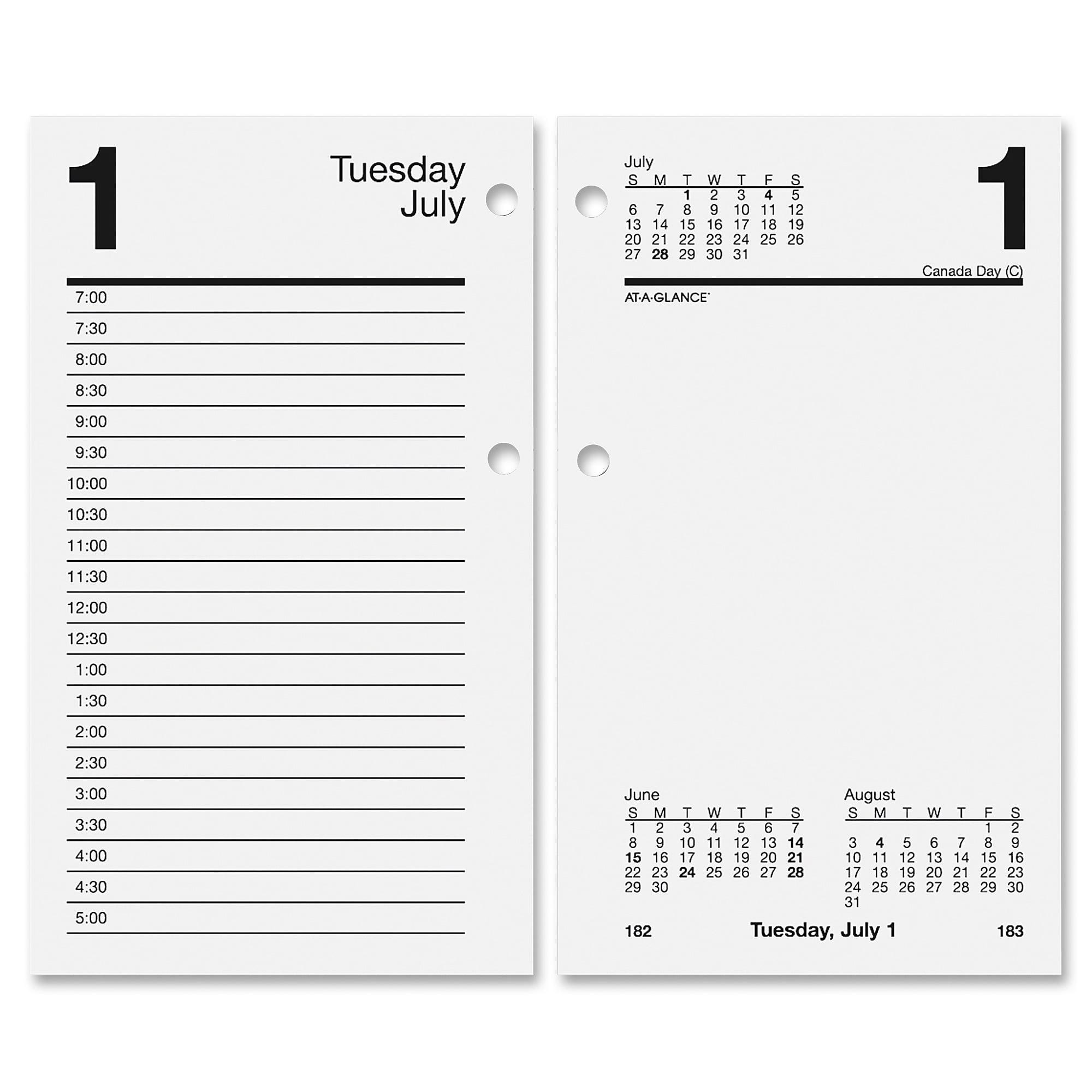 imprinted calendar x large desk simplicity tent products