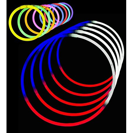 Lumistick Fourth of July Glow Stick Party Favors - Includes Necklaces and Bracelets (150 Pieces)](Fourth Of July Party Ideas)