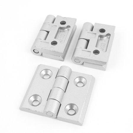 Uxcell Gate Aluminum Alloy Weldable Door  Hinge Silver Tone - Weldable Door
