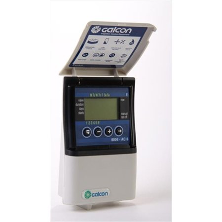Galcon 8006 AC-6 6 Station Indoor Irrigation Controller