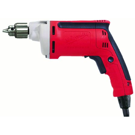 - Milwaukee Electric Tool - 010020 - Milwaukee Magnum Heavy-duty Corded Drill - Driver Drill - 0.25 Chuck