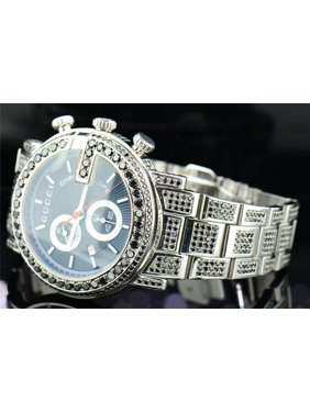 7a150a69109 Product Image Black Diamond Gucci Watch YA101309 Fully Iced Mens Custom G  Face 16.50 ct.