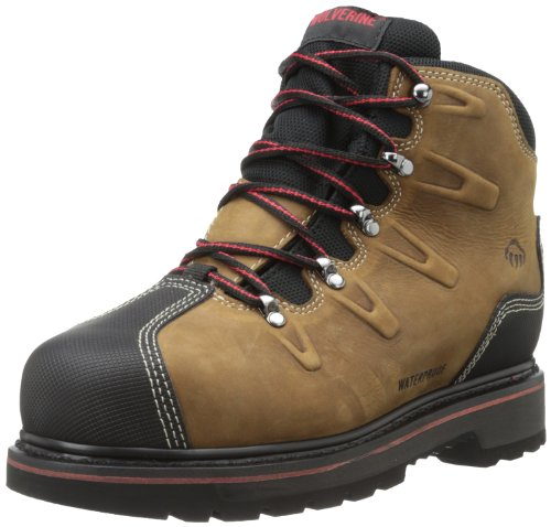 Wolverine Men's W10263 Hacksaw Boot, Brown, 14 M US