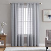 Ellison First Asia 20761884RP-GRY-BBB 50 x 84 in. Berksheer Rod Pocket Single Curtain Panel - Grey