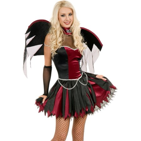 Sexy Adult Vampire Goth Twilight Halloween Costume