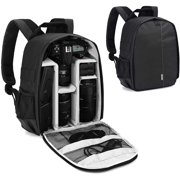 MOVSOU Camera Backpack Bag Professional for DSLR/SLR Mirrorless Camera Waterproof, Camera Case Compatible for Sony Canon Nikon Camera and Lens Tripod Accessories