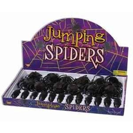 Forum Novelties Jumping Spider Novelty Item (Quantity: 1 Individual Spider - Not a box)