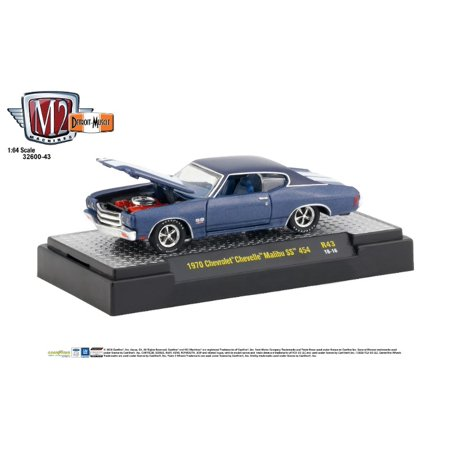 1970 Chevrolet Chevelle Ss - M2 Machines 1:64 Detroit Muscle Release 43 1970 Chevrolet Chevelle Malibu SS 454