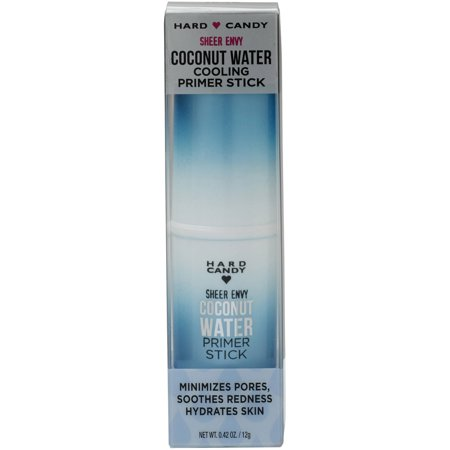 Hard Candy Sheer Envy Cooling Primer Stick, 1248 Coconut Water, 0.42 oz