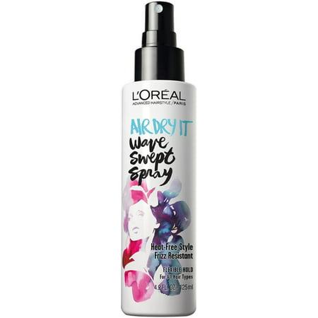 2 Pack - L'Oreal Paris Advanced Haircare Air Dry It Wave Swept Spray 4.2 oz ()