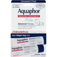 Aquaphor Baby Healing Ointment, Baby Skin Care and Diaper Rash, On-the-go