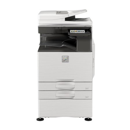 Sharp MX-3550V A3 Color Laser Multifunction Printer - 35ppm, Print, Copy, Scan, Auto Duplex, Network, A3/A4/A5 Media Sizes, 2 Trays, Center Exit Tray, Stand (Demo (Auto Duplex Unit)