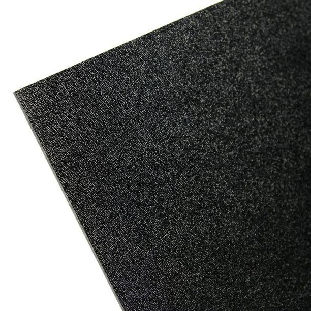 2 Pack Black Abs Plastic Sheet 1 16 Thick 12 X 24 Walmart Com Walmart Com