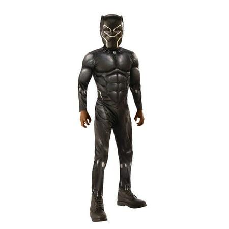 Black Corset Halloween Costume (Rubies Black Panther Boys Halloween)