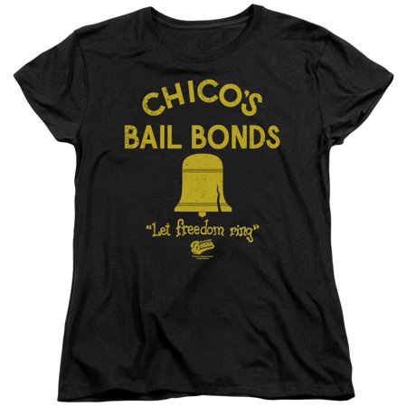 Bad News Bears - Chicos Bail Bonds - Women's Short Sleeve Shirt - Medium