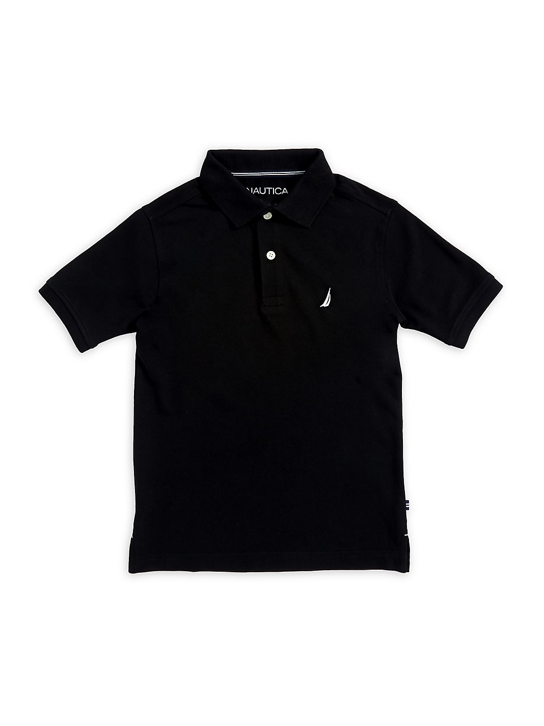Boy's Short-Sleeve Anchor Polo