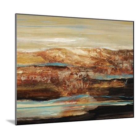 Arroyo I Wood Mounted Print Wall Art By Farrell Douglass