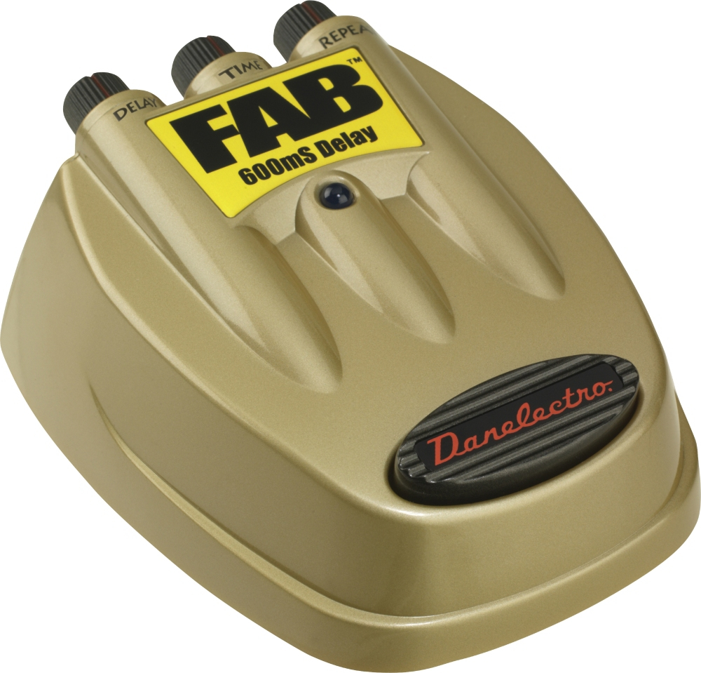 D-8 FAB Delay Guitar Effects Pedal by Danelectro