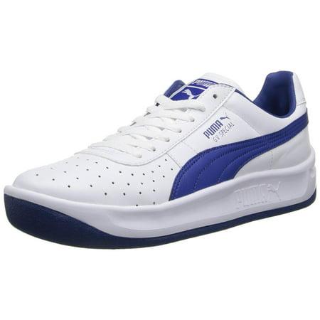 sale retailer 91560 5a99e Puma GV Special Mens White/Navy Sneakers
