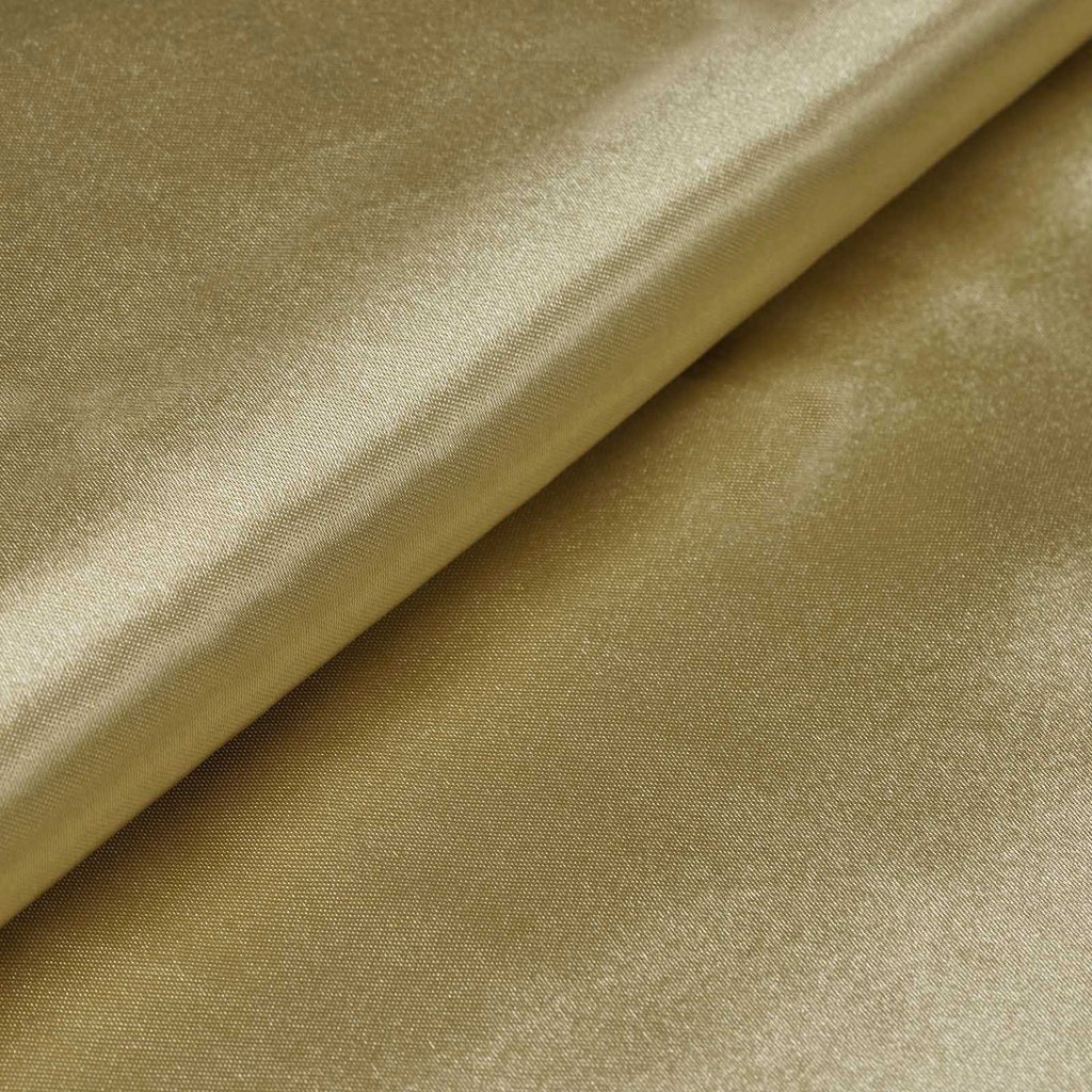 "54"" Wide x 10 yards Satin Fabric Bridal Bolt - Champagne"