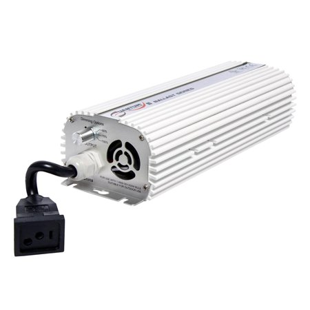 Quantum QT600 600 Watt HPS & MH Dimmable Digital Grow Light Lamp
