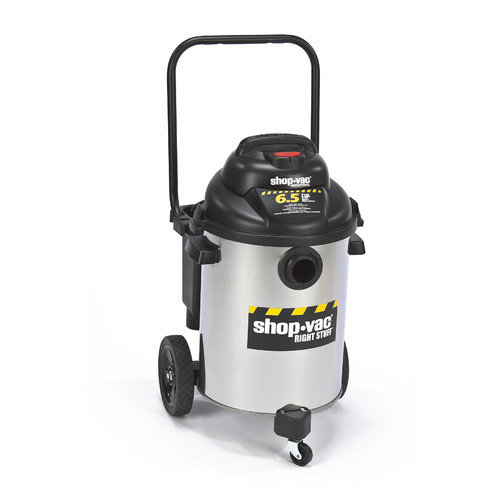 Shop-Vac Right Stuff 10 Gallon 6.5 Peak HP Stainless Steel Wet / Dry Vacuum