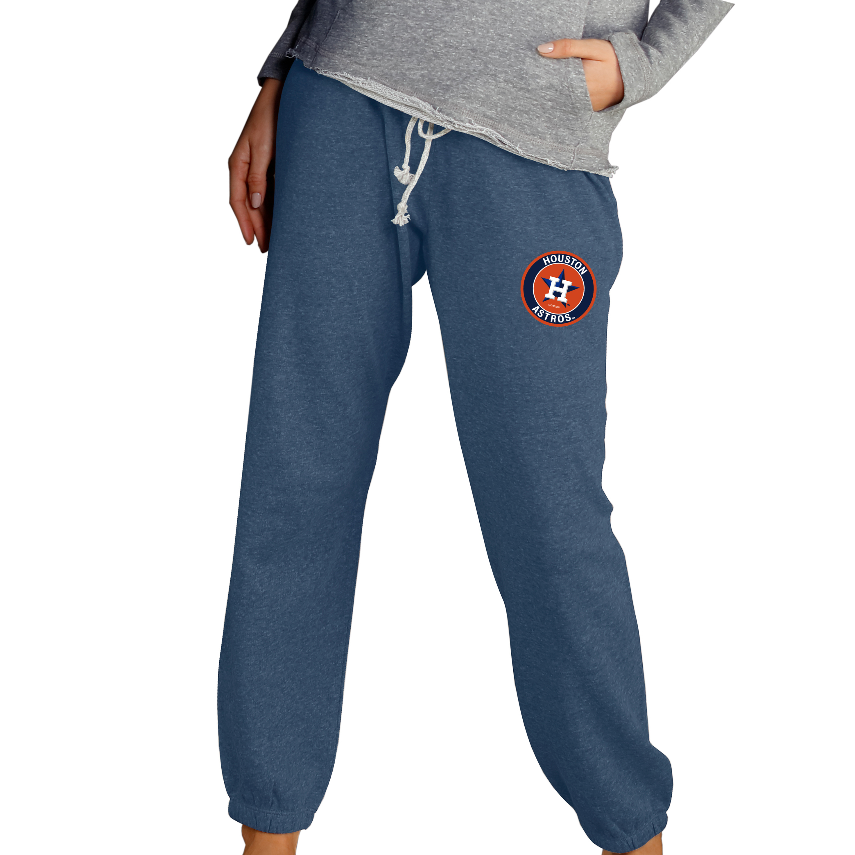 Houston Astros Concepts Sport Women's Mainstream Knit Pants - Navy