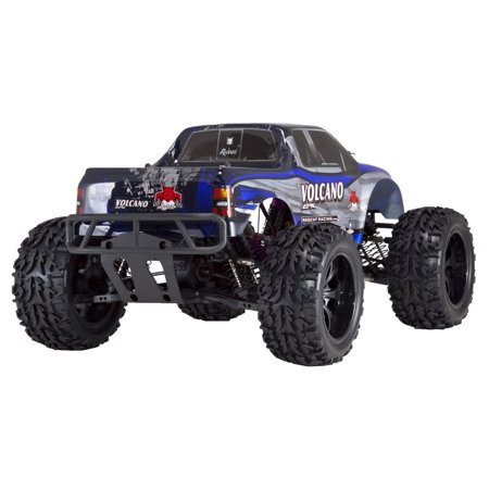 Redcat Racing RER04289 Volcano EPX 1 by 10 Scale Electric Monster Truck, Blue - image 3 de 10