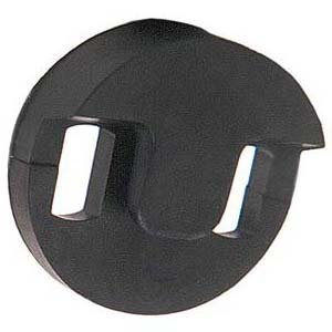 Round Tourte Style Cello Mute, 44 Hole Tourte for Practice Shaped Black Case SODIALR... by
