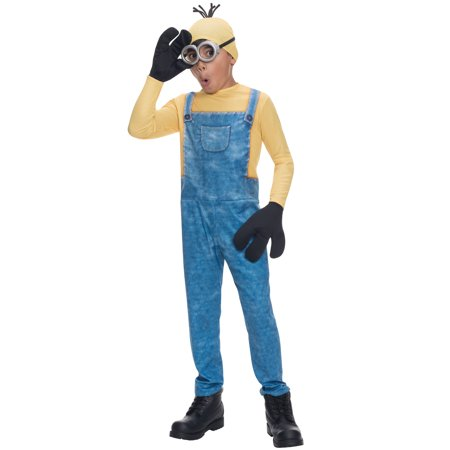 Minions Movie: Minion Kevin Child Halloween Costume, Small (4-6) - Kid Minion Halloween Costume