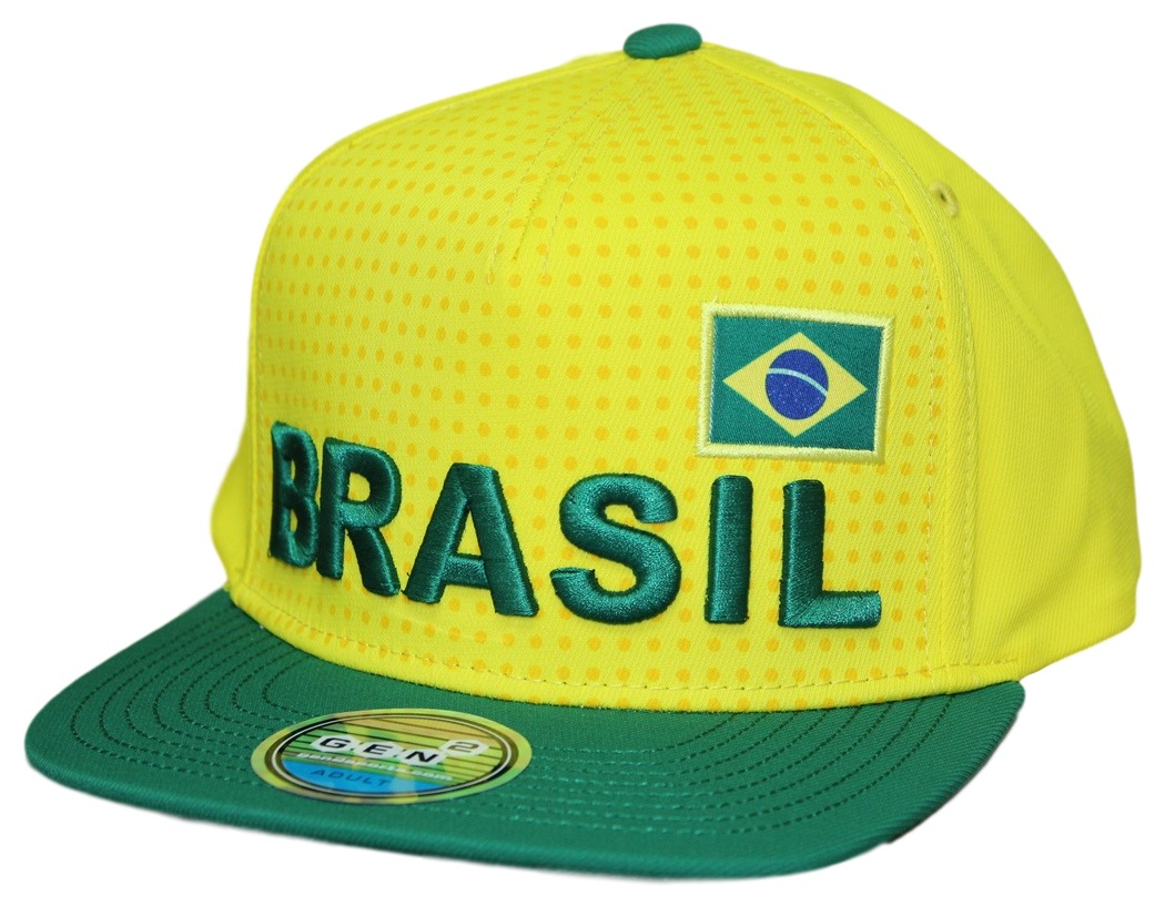 """Team Italy World Cup Soccer Federation /""""Jersey/"""" Flat Bill Snap Back Hat"""