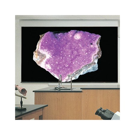 Draper Silhouette Series E Clear Sound Grey Weave Electric Projection Screen by