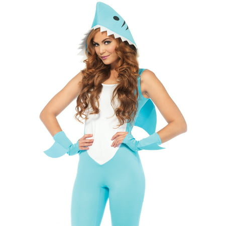 Deadly Land Shark Costume - Medium - Dress Size 8-10 - Adult Shark Costume