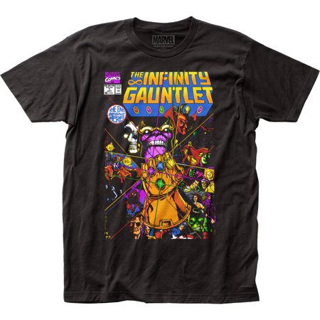 Thanos The Infinity Gauntlet Adult Fitted Jersey T-Shirt Tee - image 1 of 1