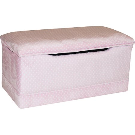 Deluxe Toy Box, Pink Dot