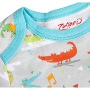 Zutano Gown, Alligator Bebop, 3 Months