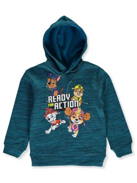 Paw Patrol Boys' Ready For Action Fleece Pullover Hoodie