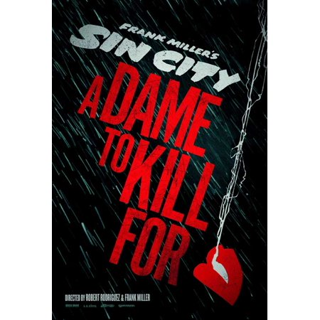 Sin City: A Dame to Kill For (2014) 27x40 Movie