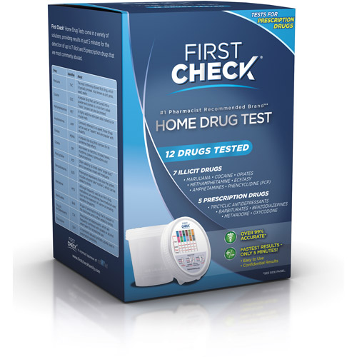 First Check Home Drug Test  12 Drugs Tested
